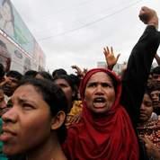 Le Bangladesh dans la rue pour les salaires
