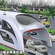 Chine : des bus pour «survoler» les bouchons