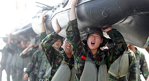 Les deux Corées prêtes à l'affrontement en mer Jaune