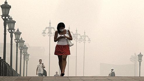 A Moscou, l'air n'a jamais connu une telle concentration de polluants.