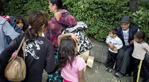 Tous les Roumains du camp évacué ce vendredi à Saint-Étienne ont reçu une obligation de quitter le territoire français.