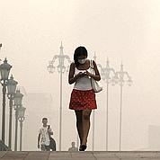 Incendies : à Moscou, «le ciel est opaque»