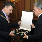 En Colombie, Uribe laisse la place à Santos