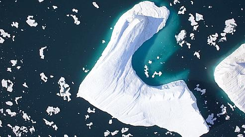 Le glacier Petermann mesure 70 kilomètre de long.
