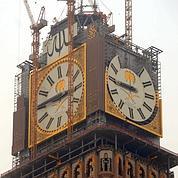 La Mecque se pare d'une horloge géante