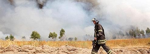 Russie : les incendies ont touché des zones radioactives