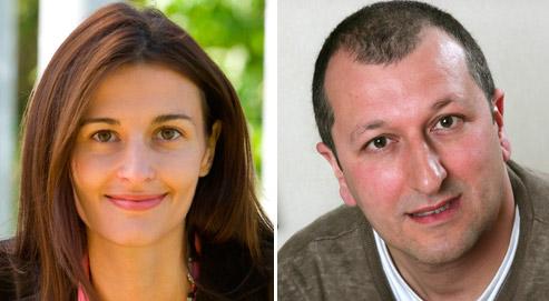 Natacha Valla, économiste chez Goldman Sachs, et Albert Edwards, stratège Global chez Société générale.