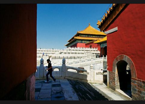 <stro />Au cœur même de Pékin,</strong> la Cité interdite reste le monument le plus visité par les Chinois, qui le surnomment affectueusement Gugong, soit » /></p> <p class=