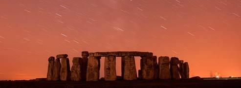 Pluie d'étoiles filantes<br> dans le ciel terrestre