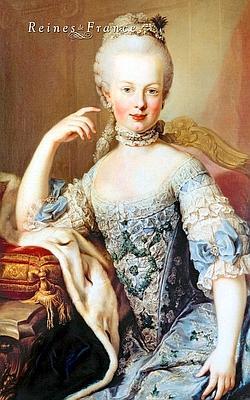 Peint au château de Schönbrunn, à Vienne, en 1767, ce poirtrait souligne l'éclatante beauté de l'archiduchesse Marie-Antoinette. Trois ans plus tard, elle épousera le futur Louis XVI.