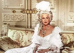 Lana Marconi dans «Si Versailles m'était conté», de Sacha Guitry (1954).