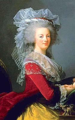 Marie-Antoinette, vers 1787-88.
