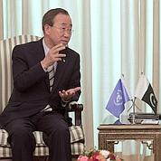 Ban Ki-moon en visite au Pakistan