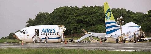 Un avion s'écrase en Colombie