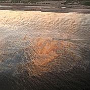 Unnuage de pétrole flotte encore