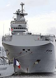Moscou remet les Mistral français en compétition