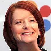 Gillard, une Galloise épanouie au soleil