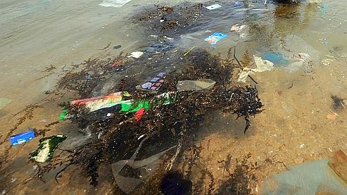 A certains endroits la concentration en plastique dépasse les 100.000 déchets au kilomètre carré.