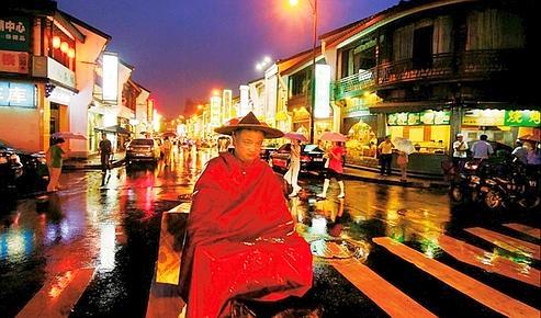 Le quartier des plaisirs à Hangzhou, vile des intellectuels et des hédonistes.