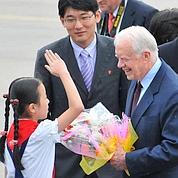 Carter en mission en Corée du Nord
