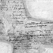 Un manuscrit de Blaise Pascal retrouvé