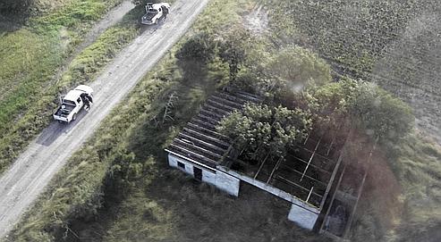 La ferme où ont été découvertes les victimes.