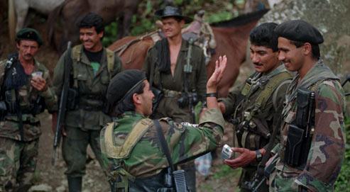 Dans la jungle avec les Farc colombiennes