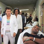 Épidémie de dengue : Bachelot aux Antilles