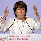 La Rochelle : Aubry s'en prend à Sarkozy