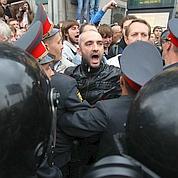 La police russe musèle l'opposition à Moscou