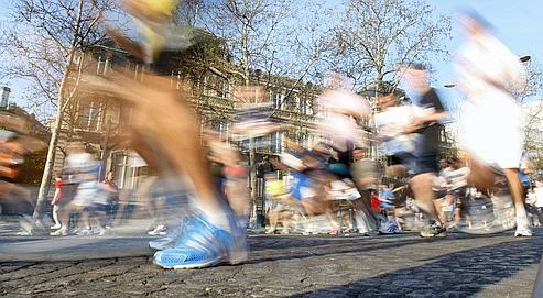 Le dernier Marathon de Paris a rassemblé près de 40.000 participants, au mois d'avril.