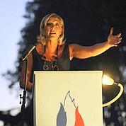 Marine Le Pen fidèle à la ligne du FN