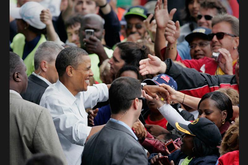 Lundi 6 septembre, Barack Obama était à Milwaukee pour annoncer un vaste plan de construction d'infrastructures afin de relancer l'emploi aux Etats-Unis où le taux de chômage reste élevé, à 9.6 %.