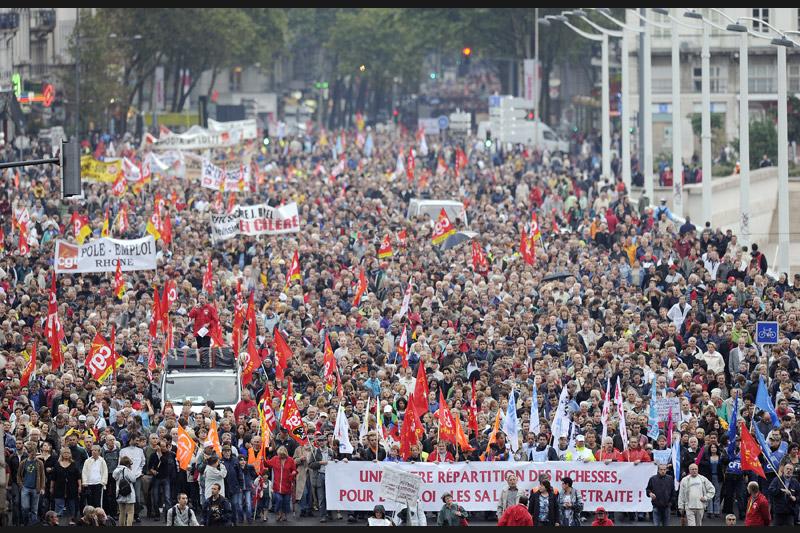 Mardi 7 septembre à Lyon, et comme dans toutes les grandes villes du pays, des milliers de personnes sont descendues dans les rues dans le cadre de la journée de mobilisation interprofessionnelle contre la réforme des retraites.
