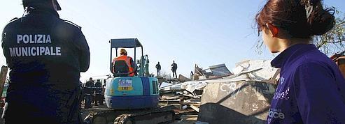 L'Italie ferme un à un les campements de Roms<br/>