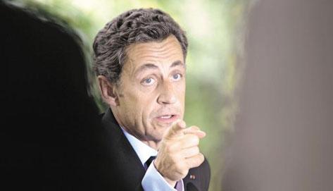 Quelle que soit l'ampleur des défilés, Nicolas Sarkozy est décidé à aller jusqu'au bout et faire voter la loi. (Crédits photo : AFP)