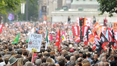 Retraites : 1,1 à 2,7 millions de manifestants