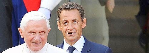 Le pape va recevoir Sarkozy<br/>