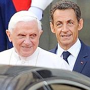 Le pape va recevoir Nicolas Sarkozy