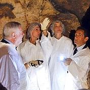 Les Sarkozy visitent la grotte de Lascaux