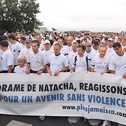 2000 personnes défilent pour la joggeuse tuée