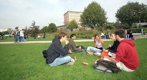 L'université de Nanterre en octobre 2007.