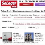 Bataille en vue sur Seloger.com