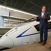 TGV grande vitesse : la Californie vise la Chine