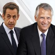 2012 : Sarkozy et Villepin à égalité