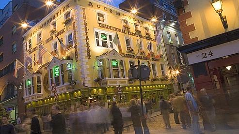 Temple Bar, un quartier dédié à la nuit. (Photo: DR)