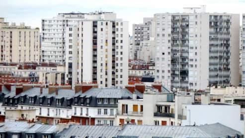 Des immeubles HLM à Vanves, dans les Hauts-de-Seine