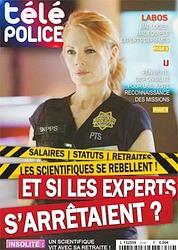 Pour dénoncer son malaise, la police scientifique a parodié un magazine de télévision.