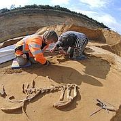 Des néandertaliens sur les bords de Seine