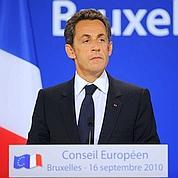 Roms : Sarkozy maintient le cap